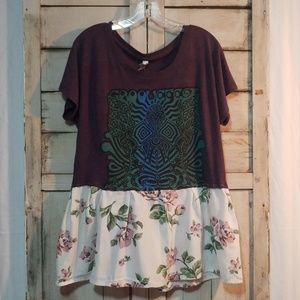 size Small Upcycled Tunic